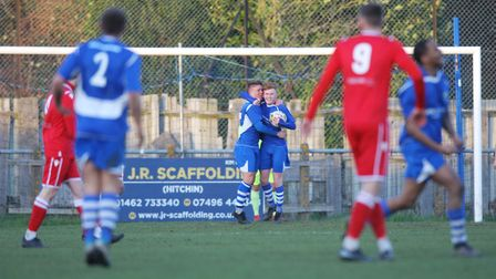 There wasn't much for London Colney to celebrate during 2019-2020 season. Picture: KARYN HADDON