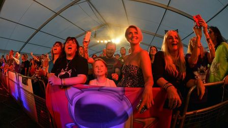 Fans at the Cambridge Rock Festival. You can watch a virtual version of the festival online this yea