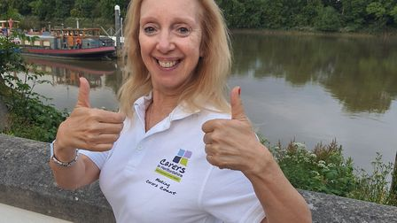 Frances Pardell from Platinum Point has been taking part in the Herts Challenge for Carers In Herts.