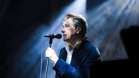 Bryan Ferry at Standon Calling Festival 2018. His appearance at Newmarket Racecourses has been resch