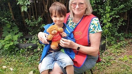 Children are given a memory bear when they leave the 'outstanding' Old London Road Pre-school. Pictu