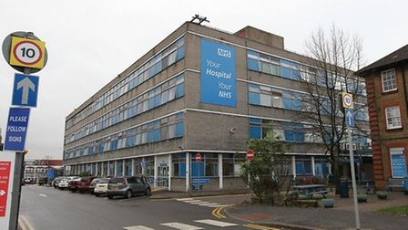 Staff who work for a contractor at Watford General hospital said they were not earning a living wage