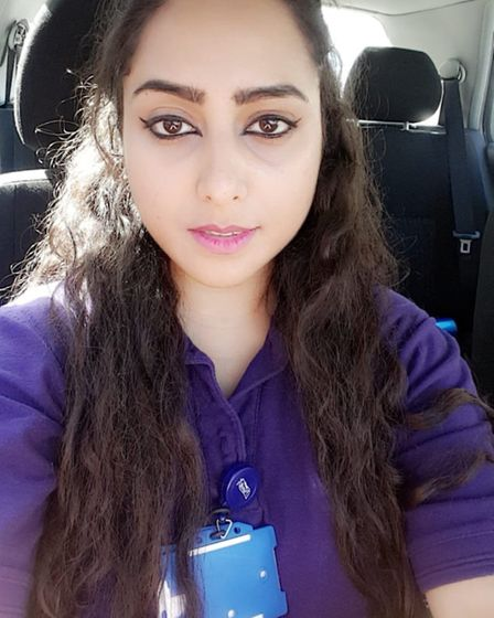 Watford General cleaner Sadia Iram said she had approached managers in tears after under-payment lef
