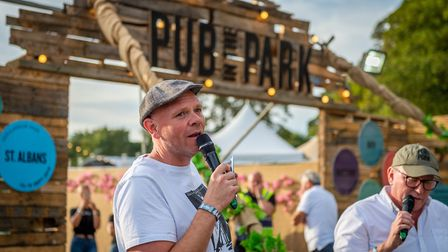 Tom Kerridge at Pub in the Park. The Pub in the Park team and the celebrity chef are now launching D