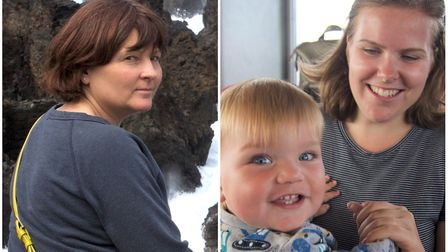 Tributes to wife and daughter who died in Ramsey crash. Pictured is Marion Bunyan and daughter Jenni
