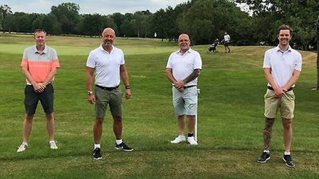 Hunts golfer Stuart Miller and his friends will play from sunrise to sunset in tribute to cancer nur