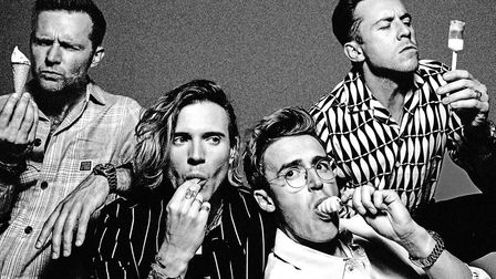 McFly will now play Newmarket's Summer Saturday Live on August 28, 2021. Picture: supplied by Chuff