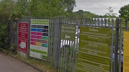 St Albans Waste and Recycling Centre is set to reopen this week. Picture: Google