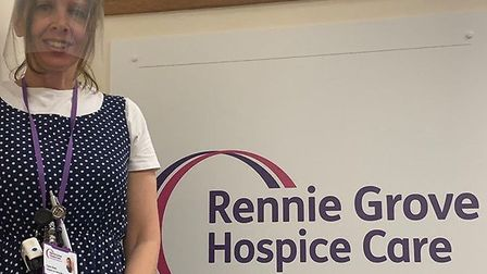 Clare Ghey is part of Rennie Grove's Hospice at Home team.