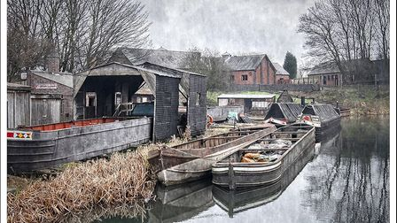 Harpenden Photographic Society's Photographer of the Year Paul Johnson: Black Country Canal 2