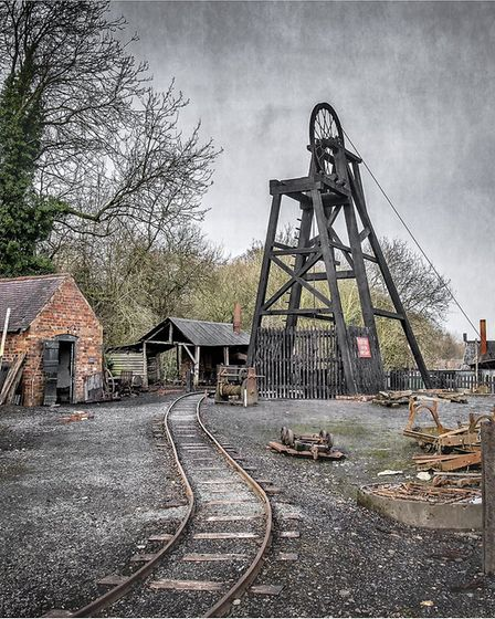 Harpenden Photographic Society's Photographer of the Year Paul Johnson: Black Country Coal Mine