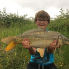 Young Jake Sellens landed more than 20 carp over the last week