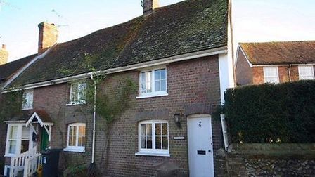 Some of Flamstead's period cottages. Picture: Archant