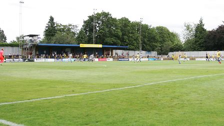 Extra funds will help St Albans City get their Clarence Park pitch ready for the new season. Picture