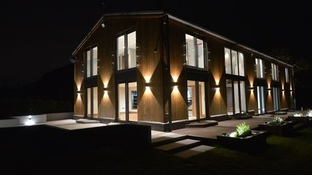 This striking 3,740 sq ft home has been designed for modern living. Picture: Northwoods