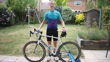 Matthew Hall from Harpenden Round Table looks forward to taking on the Cycleval challenge.