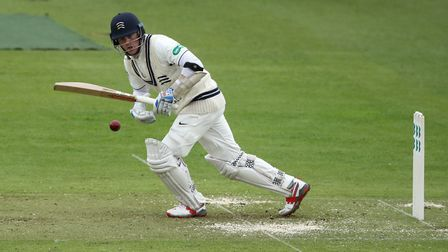 Middlesex's Sam Robson is using the time away from cricket to study for his degree at the University
