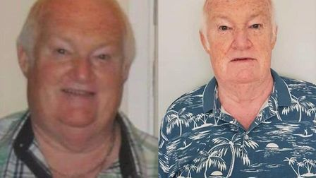 Pete Huddle, 70, has become free of type 2 diabetes after losing five stone at Slimming World. Pictu
