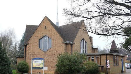 St Mary's church, Sherwood Avenue, Marshalswick. Picture: Danny Loo