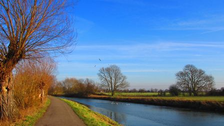 The River Cam prior to water shortage. Picture: Phoebe Taplin