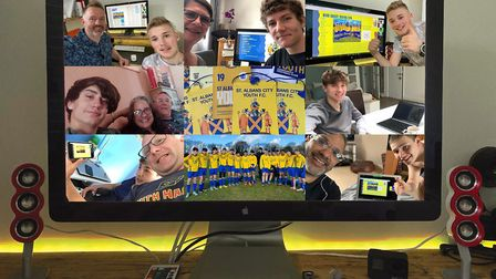 St Albans City Youth FC took their annual presentation online this year, an event which took over si