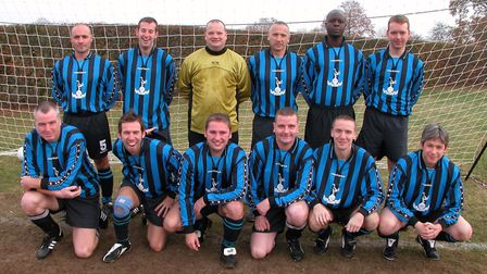 Cell Barnes were Division Four champions in 2004. Picture: BRIAN HUBBALL