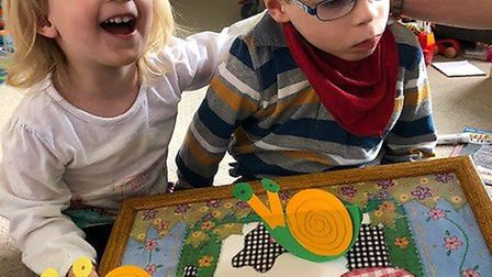 Max (right), who lives with an undiagnosed genetic disorder meaning he needs constant care, has rece
