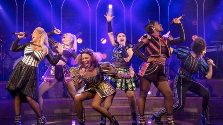 The West End cast of SIX. The musical has been added to the Utilita Live From The Drive-In series of