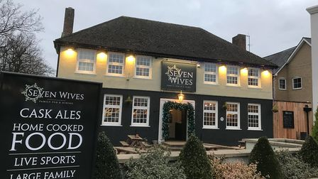 Seven Wives Pub in St Ives