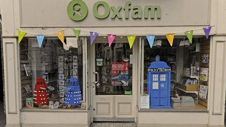 The Oxfam shop in Huntingdon has reopend but there are fears about other charity shops in the distri