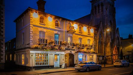 The Golden Lion Hotel in St Ives will be opening on Saturday.