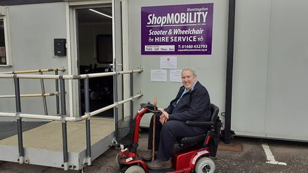 Huntingdon Shopmobility is now open PICTURE: Huntin