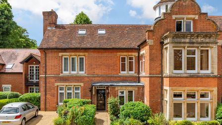 The property forms the southern wing of the original Grade II listed Victorian mansion, once known a