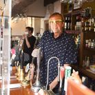 Ivan Titmuss of The Fox and Duck in Therfield is welcoming customers back after months in lockdown.