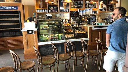 St Albans pubs, cafes and restaurants are adjusting to their new normal. Picture: Laura Bill