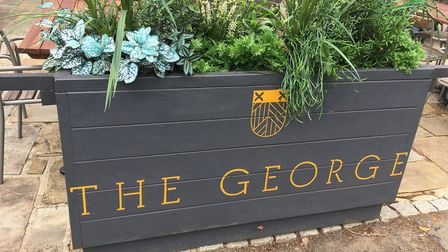 The George of Harpenden has welcomed customers back after a long lockdown. Picture: Georgia Barrow