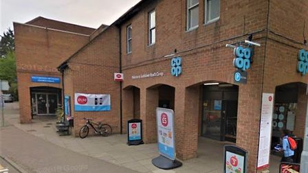 Herts police are investigating after a man racially abused three school workers inside this Co-op st