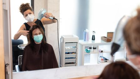 Beauty salons will be re-opening from Monday, the Government has announced. Picture: Getty Images/iS