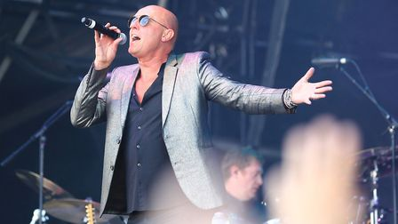 Glenn Gregory of Heaven 17. The Sheffield synth group behind hit Temptation will play the Rewind Fes
