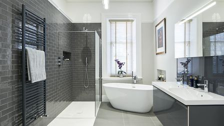 'When it comes to bathrooms it is usually the plumbing that dictates how they are designed.' Picture