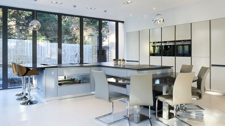 'Islands and breakfast bars are an ongoing trend and are great for transforming a kitchen into a soc