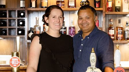 The Three Tuns Pub owners Francis Barreto and Lois Barreto PICTURE: Francis Barreto