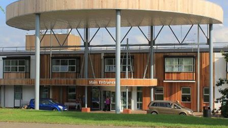Covid-19 cases are falling at Hinchingbrooke Hospital PICTURE: