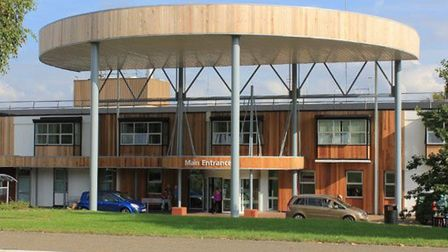 Hinchingbrooke Hospital in Huntingdon has seen a drop in new Covid-19 cases.