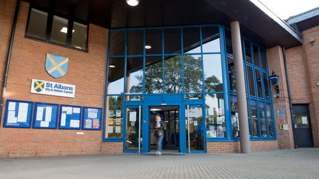St Albans District Council is facing a deficit of £3.6 million as a result of COVID-19. Picture: SAD