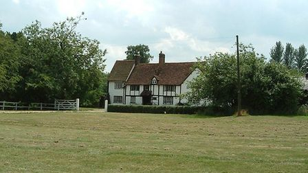 A farmhouse across the Common, Kinsbourne Green. Picture: Archant