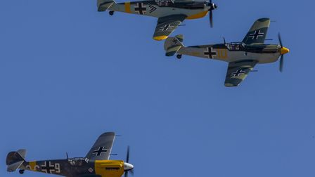 This year's Duxford Battle of Britain Air Show on September 18-20 will feature flying historic aircr