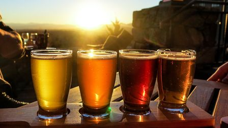 Here is our pick of the best beer gardens around St Albans. Image: Getty.