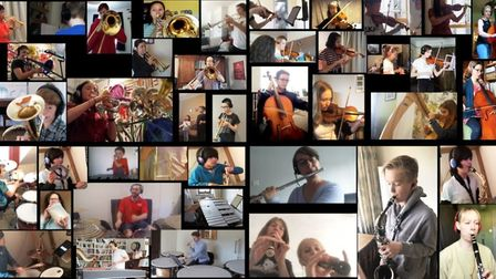 Musicians from across the district continued to make music during lockdown