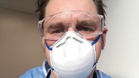 Dr Nik Johnson and colleagues have continued to work throughout the pandemic